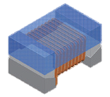 Wire wound - Ceramic Assembly High frequency inductor WCI Series