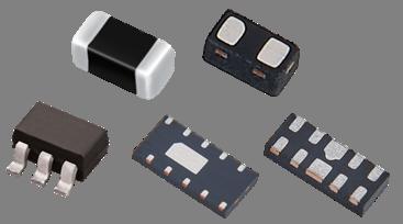 Inpaq Transient Voltage Suppressor TVS Package Size series